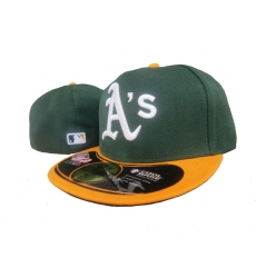 Oakland Athletics Fitted Cap 007