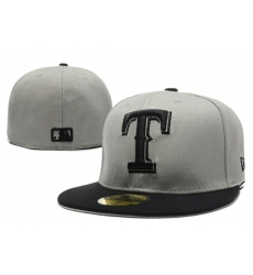 Texas Rangers Fitted Cap 006