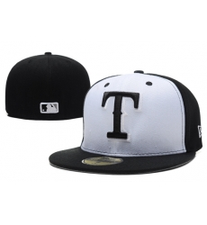 Texas Rangers Fitted Cap 007