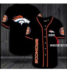 Customized Denver Broncos Baseball MLB Jersey