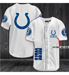 Customized Indianapolis Colts Baseball MLB Jersey