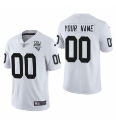 Men Women Youth Toddler Las Vegas Raiders Custom Men Nike 2020 Inaugural Season Vapor Limited NFL Jerseyey Whi
