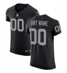 Men Women Youth Toddler Nike Las Vegas Raiders Customized Black Team Color Stitched Vapor Untouchable Elite Men NFL Jersey