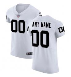 Men Women Youth Toddler Nike Las Vegas Raiders Customized White Stitched Vapor Untouchable Elite Men NFL Jersey