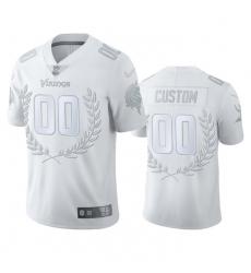 Men Women Youth Toddler Minnesota Vikings Custom Men 27 Nike Platinum NFL MVP Limited Edition Jersey