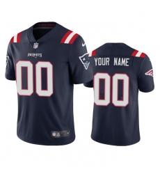 Men Women Youth Toddler New England Patriots Custom Men Nike Navy 2020 Vapor Limited Jersey