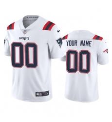 Men Women Youth Toddler New England Patriots Custom Men Nike White 2020 Vapor Limited Jersey