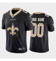 Men Women Youth Toddler New Orleans Saints Custom Black Men Nike Big Team Logo Vapor Limited NFL Jersey