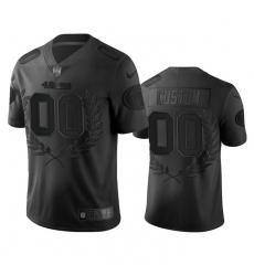 Men Women Youth Toddler San Francisco 49ers Custom Men Nike Black NFL MVP Limited Edition Jersey