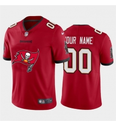 Men Women Youth Toddler Tampa Bay Buccaneers Custom Red Men Nike Big Team Logo Vapor Limited NFL Jersey