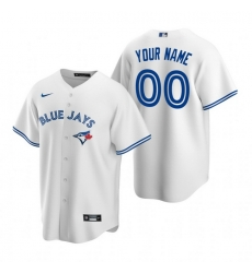 Men Women Youth Toddler All Size Toronto Blue Jays Custom Nike White Stitched MLB Cool Base Home Jersey