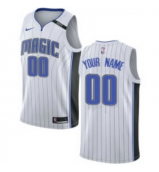 Men Women Youth Toddler All Size Nike Orlando Magic Customized Authentic White NBA Association Edition Jersey