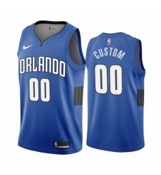 Men Women Youth Toddler All Size Orlando Magic Custom Blue 2019 20 Statement Edition NBA Jersey