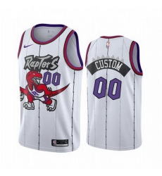 Men Women Youth Toddler All Size Toronto Raptors Custom White 2019 20 Hardwood Classic Edition Stitched NBA Jersey