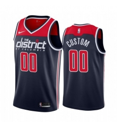 Men Women Youth Toddler All Size Nike Washington Wizards Custom Navy 2019 20 Statement Edition NBA Jersey