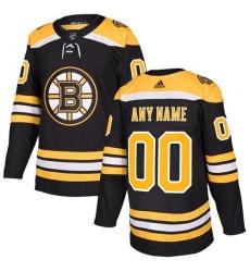 Men Women Youth Toddler Youth Black Jersey - Customized Adidas Boston Bruins Home