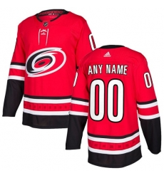 Men Women Youth Toddler Youth Red Jersey - Customized Adidas Carolina Hurricanes Home