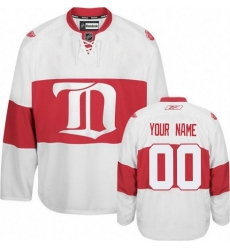 Men Women Youth Toddler White Jersey - Customized Reebok Detroit Red Wings Third Winter Classic