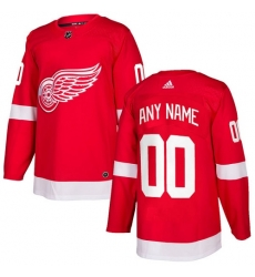 Men Women Youth Toddler Youth Red Jersey - Customized Adidas Detroit Red Wings Home
