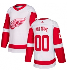 Men Women Youth Toddler Youth White Jersey - Customized Adidas Detroit Red Wings Away