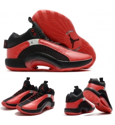 Jordan 35 Men Shoes Black Red