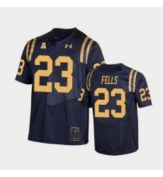 Men navy midshipmen myles fells college football navy replica jersey