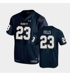 Men navy midshipmen myles fells replica navy college football jersey
