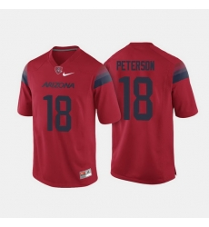 Arizona Wildcats Cedric Peterson College Football Red Jersey