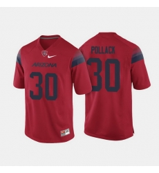 Arizona Wildcats Josh Pollack College Football Red Jersey