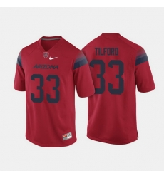 Arizona Wildcats Nathan Tilford College Football Red Jersey