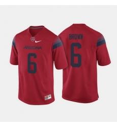 Arizona Wildcats Shun Brown College Football Red Jersey