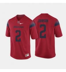 Arizona Wildcats Tyrell Johnson College Football Red Jersey