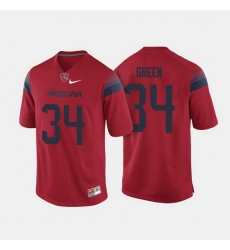 Arizona Wildcats Zach Green College Football Red Jersey