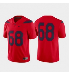 Men Arizona Wildcats 68 Red Game Alternate Jersey