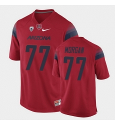 Men Arizona Wildcats Jordan Morgan College Football Red Game Jersey