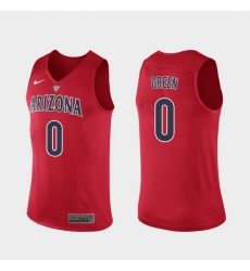 Men Arizona Wildcats Josh Green Hyper Elite Authentic Red Performance Jersey