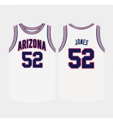 Men Arizona Wildcats Kory Jones White College Basketball Jersey