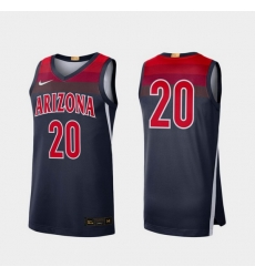 Men Arizona Wildcats Navy Limited College Baketball Nike Jersey