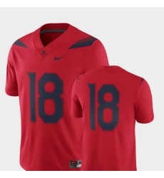 Men Arizona Wildcats Red College Football 2018 Game Jersey