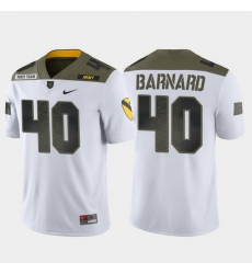 Men Army Black Knights Cade Barnard 40 White 1St Cavalry Division Limited Edition Jersey