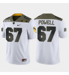 Men Army Black Knights Dean Powell 67 White 1St Cavalry Division Limited Edition Jersey