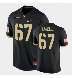 Men Army Black Knights Dean Powell College Football Black Game Jersey