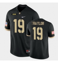 Men Army Black Knights Delshawn Traylor College Football Black Game Jersey