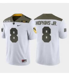 Men Army Black Knights Kelvin Hopkins Jr. 8 White 1St Cavalry Division Limited Edition Jersey