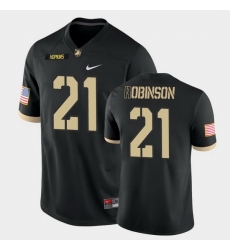Men Army Black Knights Tyrell Robinson College Football Black Game Jersey