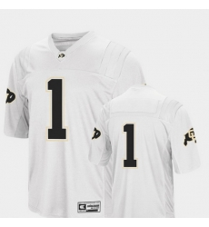 Men Colorado Buffaloes 1 White College Football Colosseum Jersey