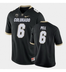 Men Colorado Buffaloes Alec Pell College Football Black Game Jersey