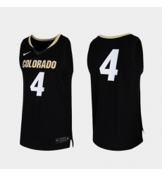 Men Colorado Buffaloes Black Replica College Basketball Nike Jersey