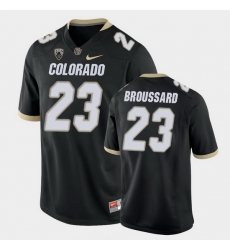 Men Colorado Buffaloes Jarek Broussard College Football Black Game Jersey