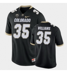 Men Colorado Buffaloes Mister Williams College Football Black Game Jersey